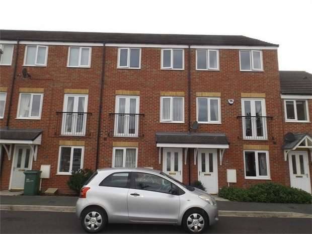 3 Bedrooms Terraced House for sale in Pipistrelle Court, Stockton-on-Tees, Durham
