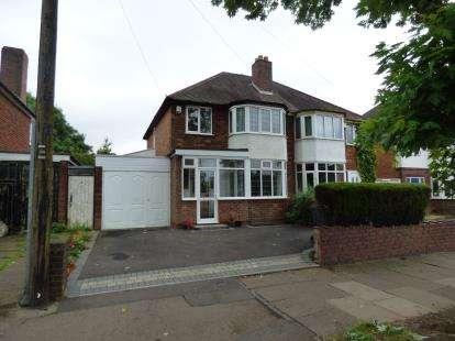 3 Bedrooms Semi Detached House for sale in Brandwood Road, Birmingham, West Midlands
