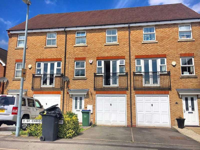4 Bedrooms Terraced House for sale in ST CHRISTOPHER DRIVE, WEDNESBURY, WEST MIDLANDS, WS10 0GE