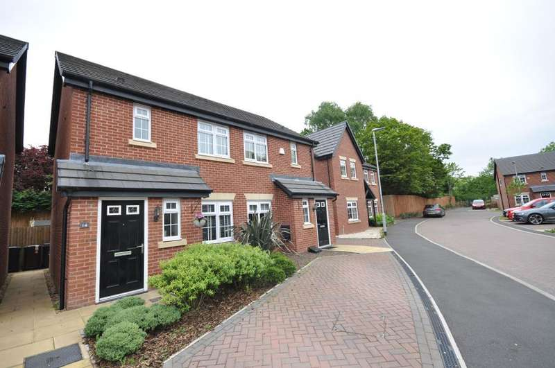 2 Bedrooms Semi Detached House for sale in St Edwards Chase, Fulwood, Preston, Lancashire, PR2 3BF