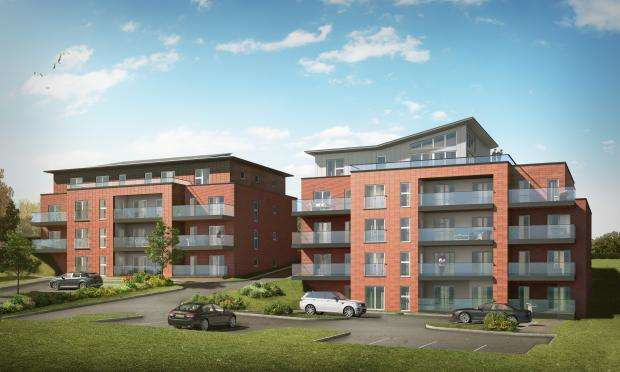 2 Bedrooms Apartment Flat for sale in Holbeck Hill, Scarborough, North Yorkshire YO11 3BL