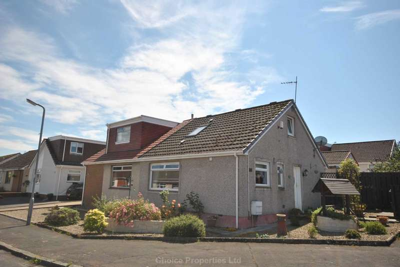 2 Bedrooms Semi Detached House for sale in Hunter Road, Crosshouse, KA2 0LD