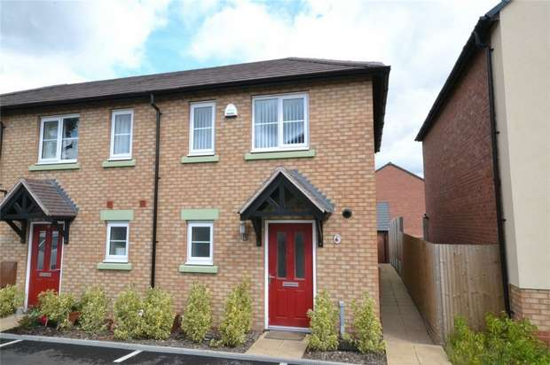 2 Bedrooms End Of Terrace House for sale in 30 Vesey Court, Wellington, Telford, Shropshire