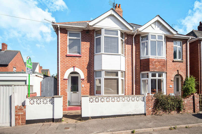 3 Bedrooms Semi Detached House for sale in Madeira Villas, Exmouth, EX8