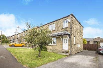 3 Bedrooms Semi Detached House for sale in Stonelea, Barkisland, Halifax, West Yorkshire