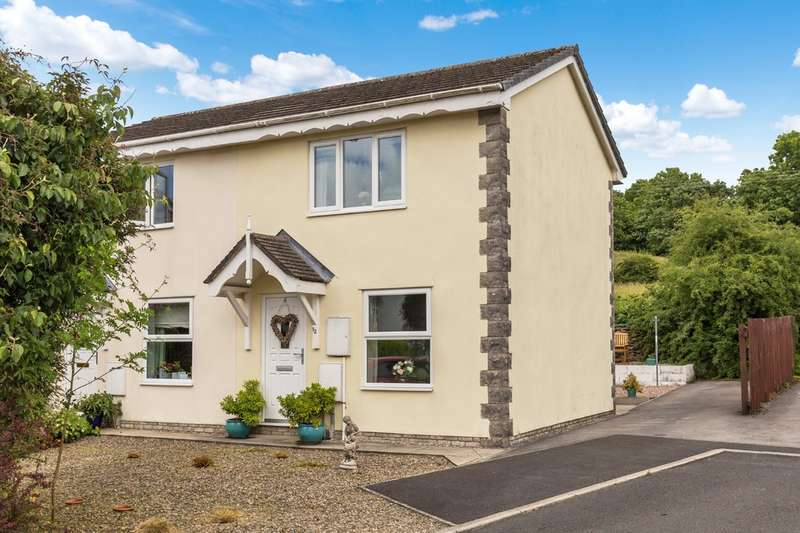 1 Bedroom Semi Detached House for sale in 12 Teal Beck, Kendal, Cumbria, LA9 7RQ