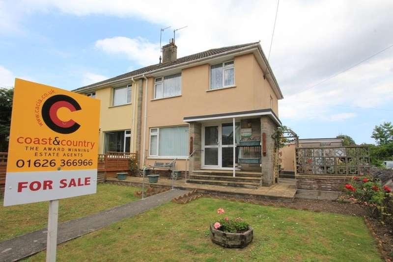 3 Bedrooms Semi Detached House for sale in Gestridge Road, Kingsteignton