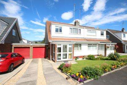 3 Bedrooms Semi Detached House for sale in St. Ives Road, Moodiesburn, Glasgow, North Lanarkshire