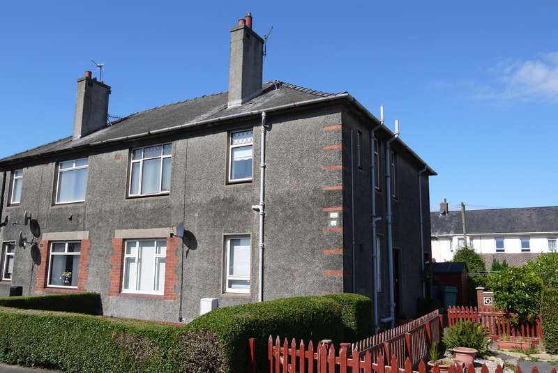 2 Bedrooms Flat for sale in Springbank Road, Ayr, KA8