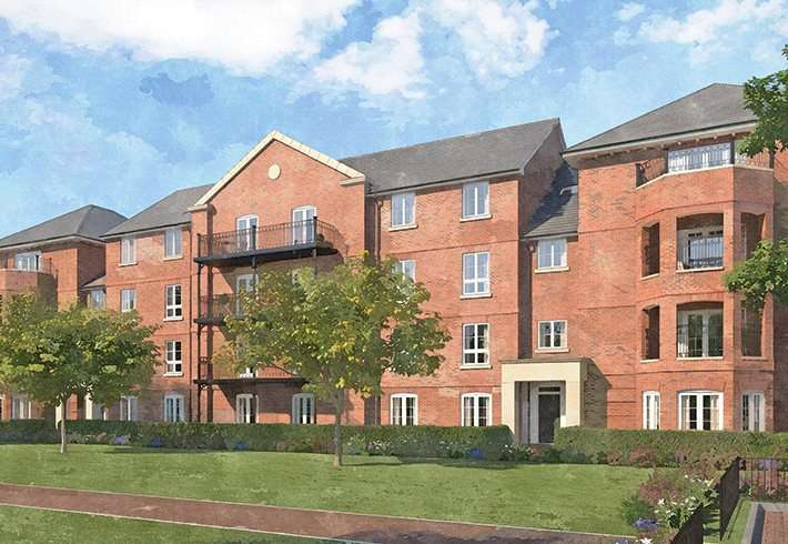 2 Bedrooms Flat for sale in Portland Gardens, Malthouse Way, Marlow, Buckinghamshire, SL7