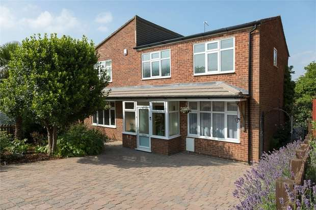 5 Bedrooms Detached House for sale in The Heights, Market Harborough, Leicestershire