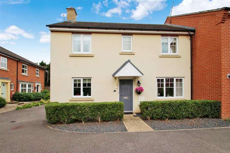 3 Bedrooms Semi Detached House for sale in Spalding Lane, Grange Farm, Kesgrave, Ipswich