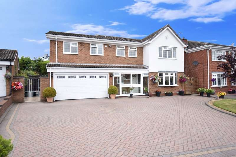 4 Bedrooms Detached House for sale in Luddington Road, Solihull