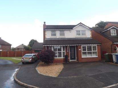 3 Bedrooms Detached House for sale in Wearhead Close, Golborne, Warrington, Cheshire