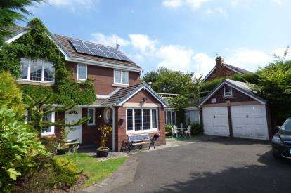 4 Bedrooms Detached House for sale in Tourney Green, Kingswood, Warrington, Cheshire