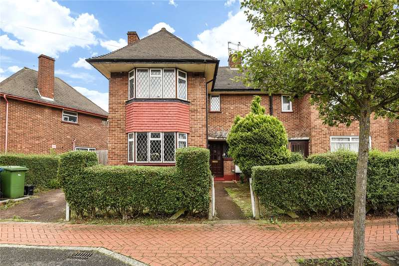 3 Bedrooms Semi Detached House for sale in Maryatt Avenue, Harrow, Middlesex, HA2