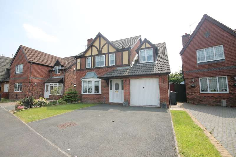 4 Bedrooms Detached House for sale in Balmoral Way, Prescot L34