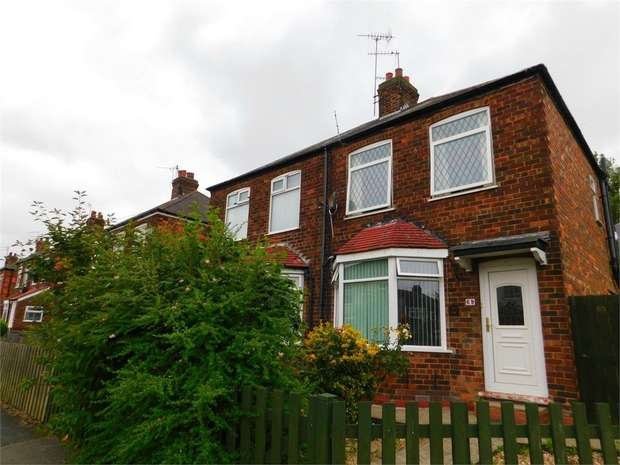 2 Bedrooms Semi Detached House for sale in Campion Avenue, Hull, East Riding of Yorkshire