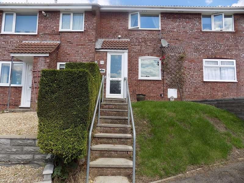 2 Bedrooms Terraced House for sale in Hazeldene Avenue, Brackla, Bridgend. CF31 2JP