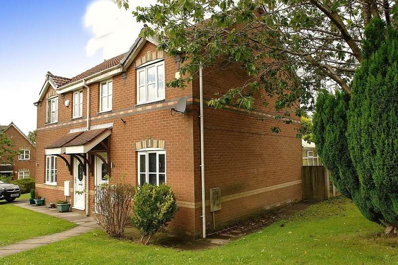3 Bedrooms Semi Detached House for sale in 129 Hodge Clough Road, Moorside