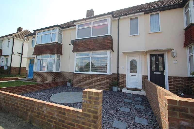 2 Bedrooms Terraced House for sale in Geoffrey Crescent, Fareham