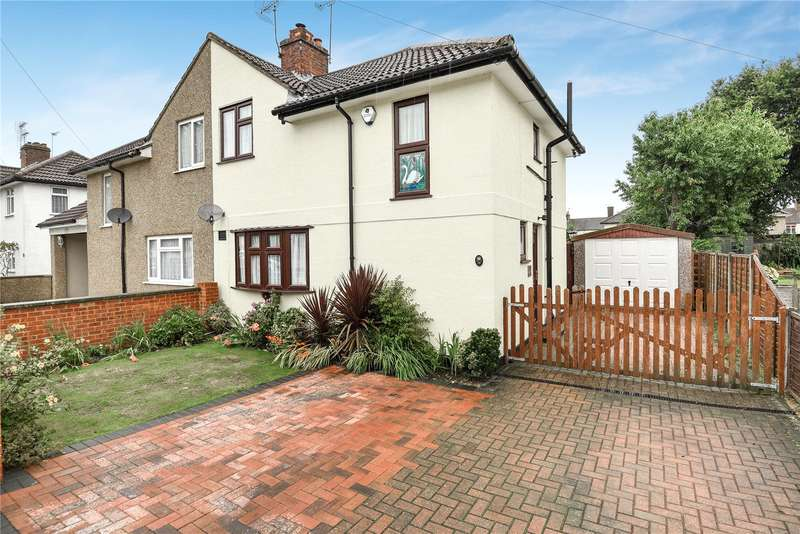 3 Bedrooms Semi Detached House for sale in Vernon Drive, Harefield, Uxbridge, Middlesex, UB9