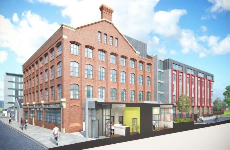 1 Bedroom Studio Flat for sale in Fox Street Village, Liverpool 3