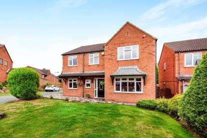 4 Bedrooms Detached House for sale in Garnet Close, Stonnall, Walsall, .