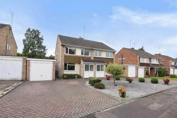 3 Bedrooms Semi Detached House for sale in Valley Crescent, Wokingham, Berkshire