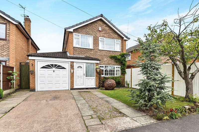 3 Bedrooms Detached House for sale in Harold Avenue, Langley Mill, Nottingham, NG16