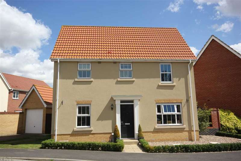 3 Bedrooms Detached House for sale in Grantham Avenue, Great Cornard CO10 0FT