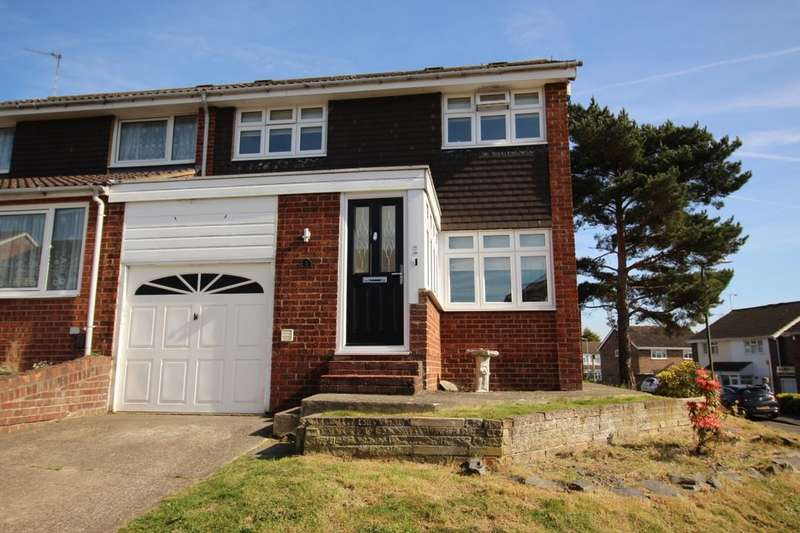 3 Bedrooms Semi Detached House for sale in Charnock, Swanley, BR8