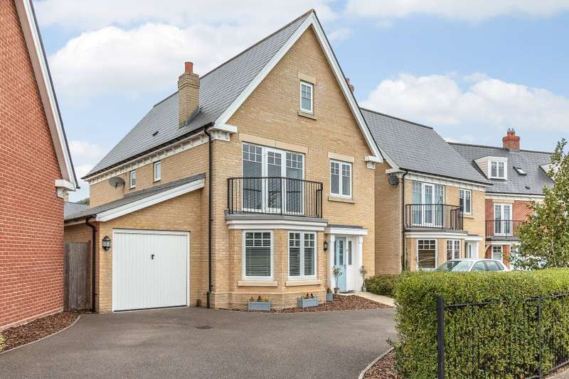 4 Bedrooms Detached House for sale in Tile House Lane, Great Horkesley, Colchester, Essex CO6
