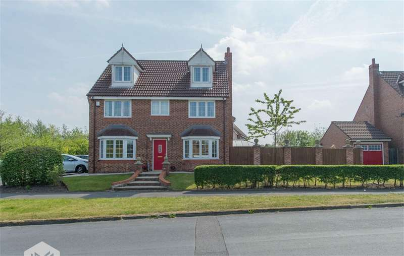 5 Bedrooms Detached House for sale in Cherwell Road, Westhoughton, Bolton, BL5