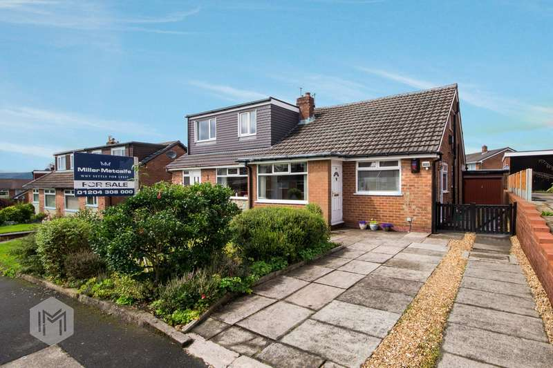 4 Bedrooms Semi Detached Bungalow for sale in Ferndown Road, Bolton, BL2