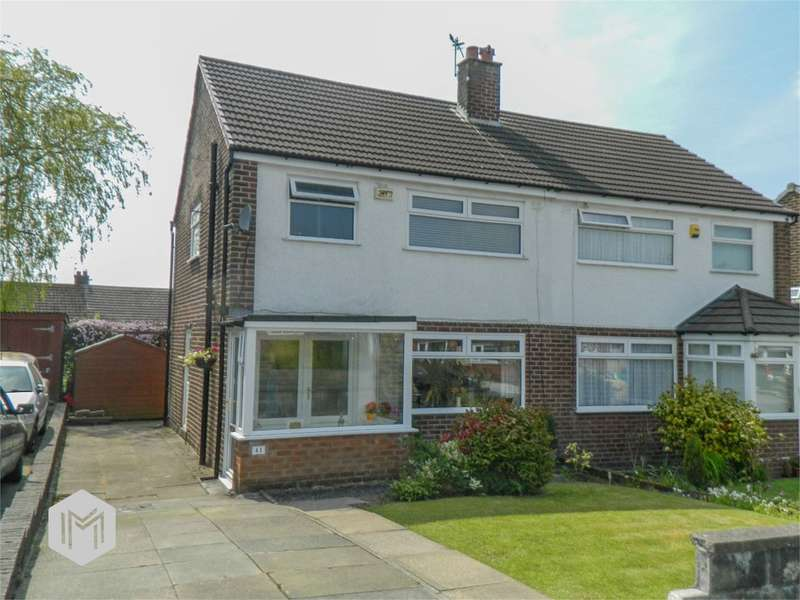 3 Bedrooms Semi Detached House for sale in Seaford Road, Bolton, BL2