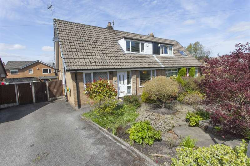 3 Bedrooms Semi Detached Bungalow for sale in Crosfield Avenue, Summerseat, Bury, BL9