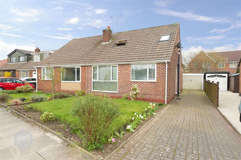 3 Bedrooms Semi Detached Bungalow for sale in Cornwall Drive, Bury, BL9