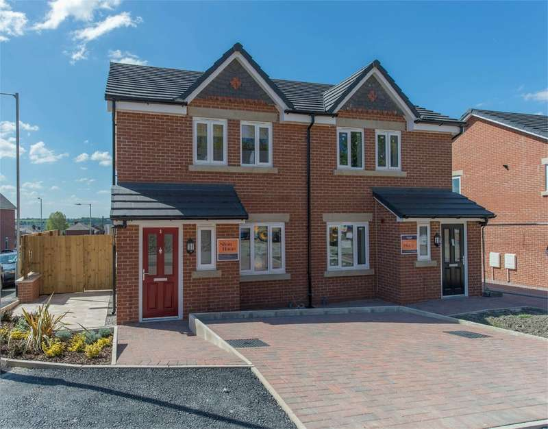 3 Bedrooms Semi Detached House for sale in Greenwood Mews, Horwich, Bolton, BL6