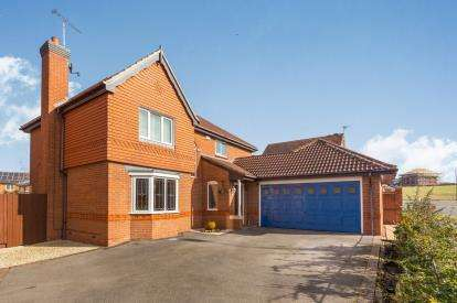 4 Bedrooms Detached House for sale in Kingsdale Grove, Chellaston, Derby, Derbyshire
