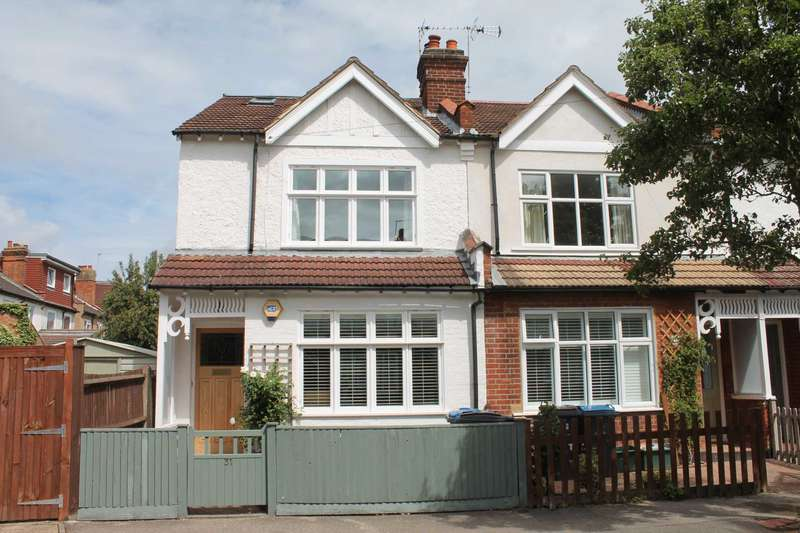 4 Bedrooms Semi Detached House for sale in Beech Grove, New Malden