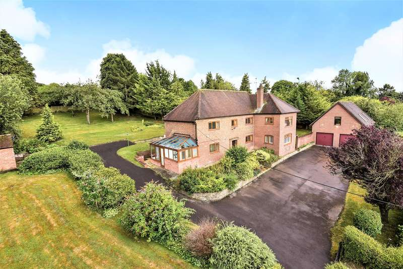 5 Bedrooms Detached House for sale in Ox Drove, Picket Piece, Andover, SP11
