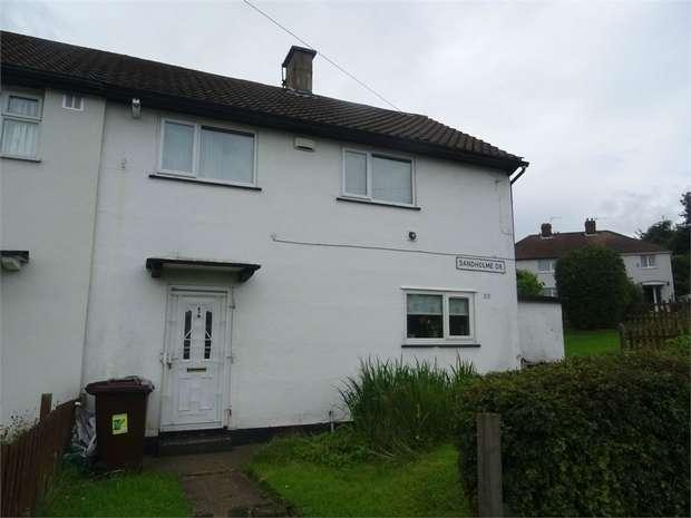 3 Bedrooms Semi Detached House for sale in Sandholme Drive, Bradford, West Yorkshire