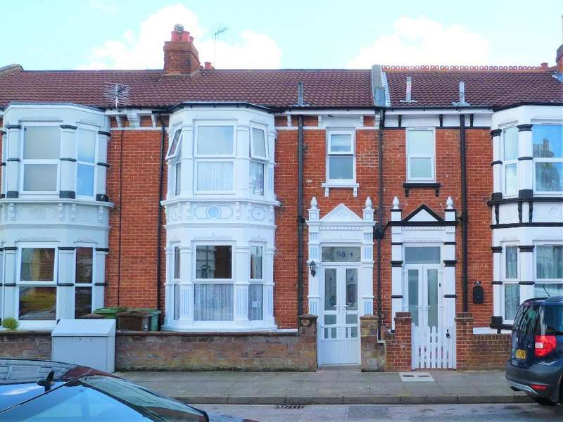 3 Bedrooms Terraced House for sale in Balfour Road, Portsmouth, PO2 0NH