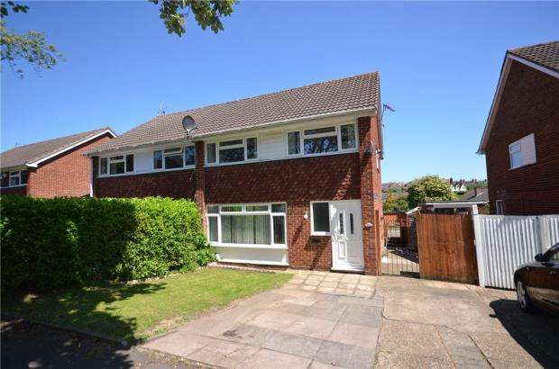 4 Bedrooms Semi Detached House for sale in Great Hill Crescent, Maidenhead, Berkshire