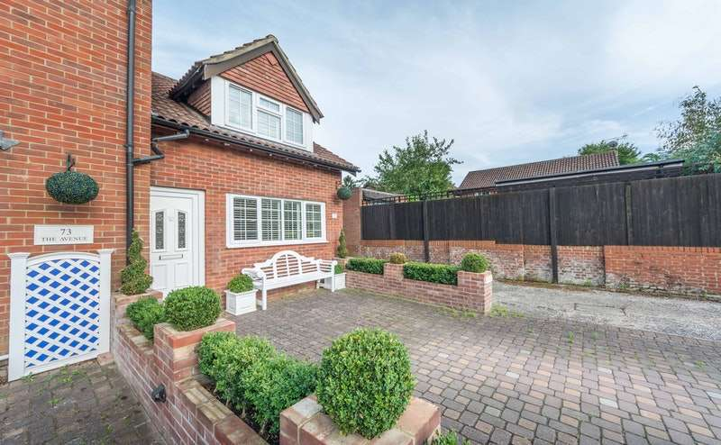 2 Bedrooms End Of Terrace House for sale in The Avenue, Liphook, Hampshire, GU30