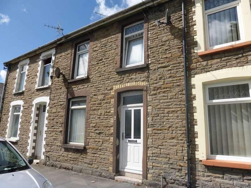 3 Bedrooms Terraced House for sale in Coopers Terrace, Ystrad Mynach, Hengoed