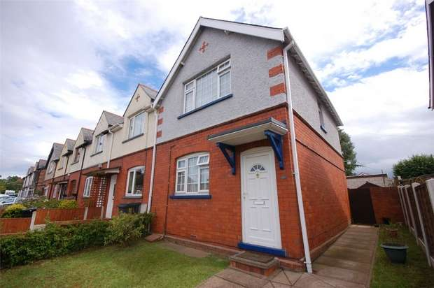 3 Bedrooms End Of Terrace House for sale in Beech Street, Highley, BRIDGNORTH, Shropshire