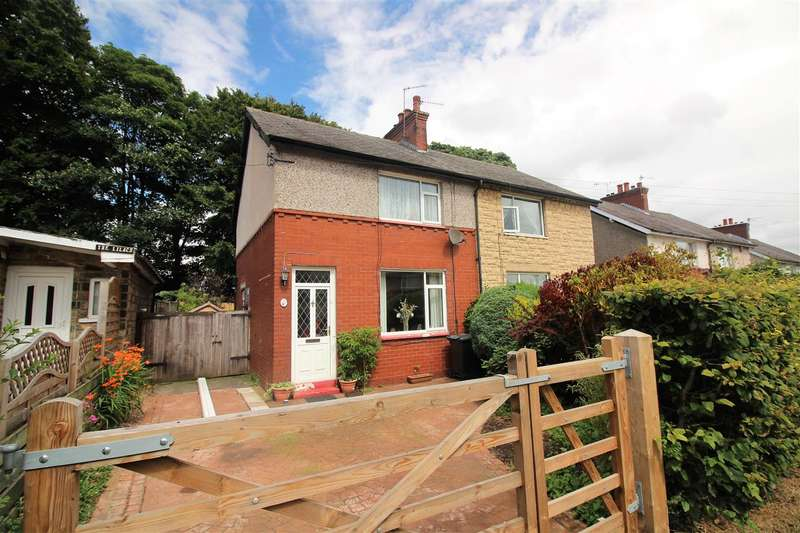 2 Bedrooms Semi Detached House for sale in Whiteley Avenue, Beechwood, Sowerby Bridge