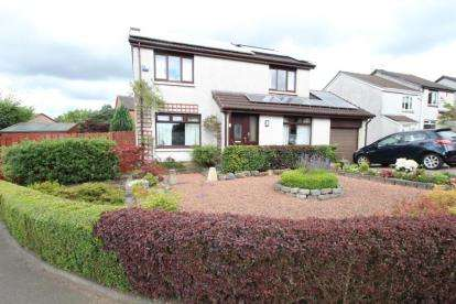 4 Bedrooms Detached House for sale in Foxhills Place, Summerston, Glasgow